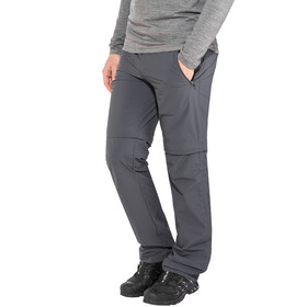 Regatta Xert II Stretch Zip of Trousers Regular Herren seal grey